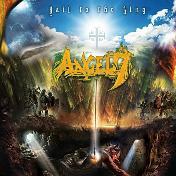 ANGEL 7 hail to the king CD