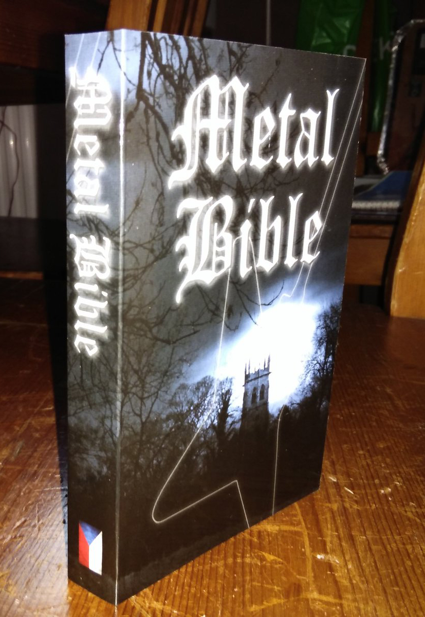 The Metal Bible English Version Book Vision Of God