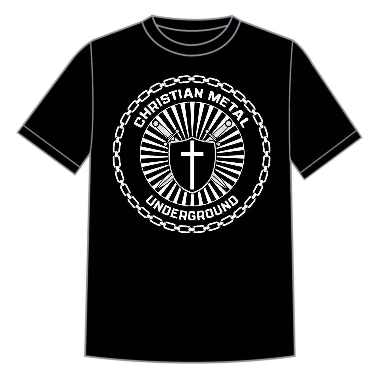 Christian Metal Underground Records Logo Shirt Vision
